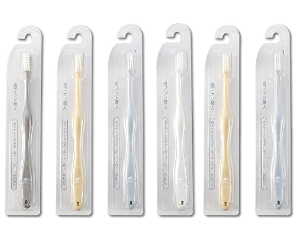 開始劣るダーリン歯ブラシ職人Artooth ®田辺重吉 磨きやすい歯ブラシ 極 AT-09 (6本組)