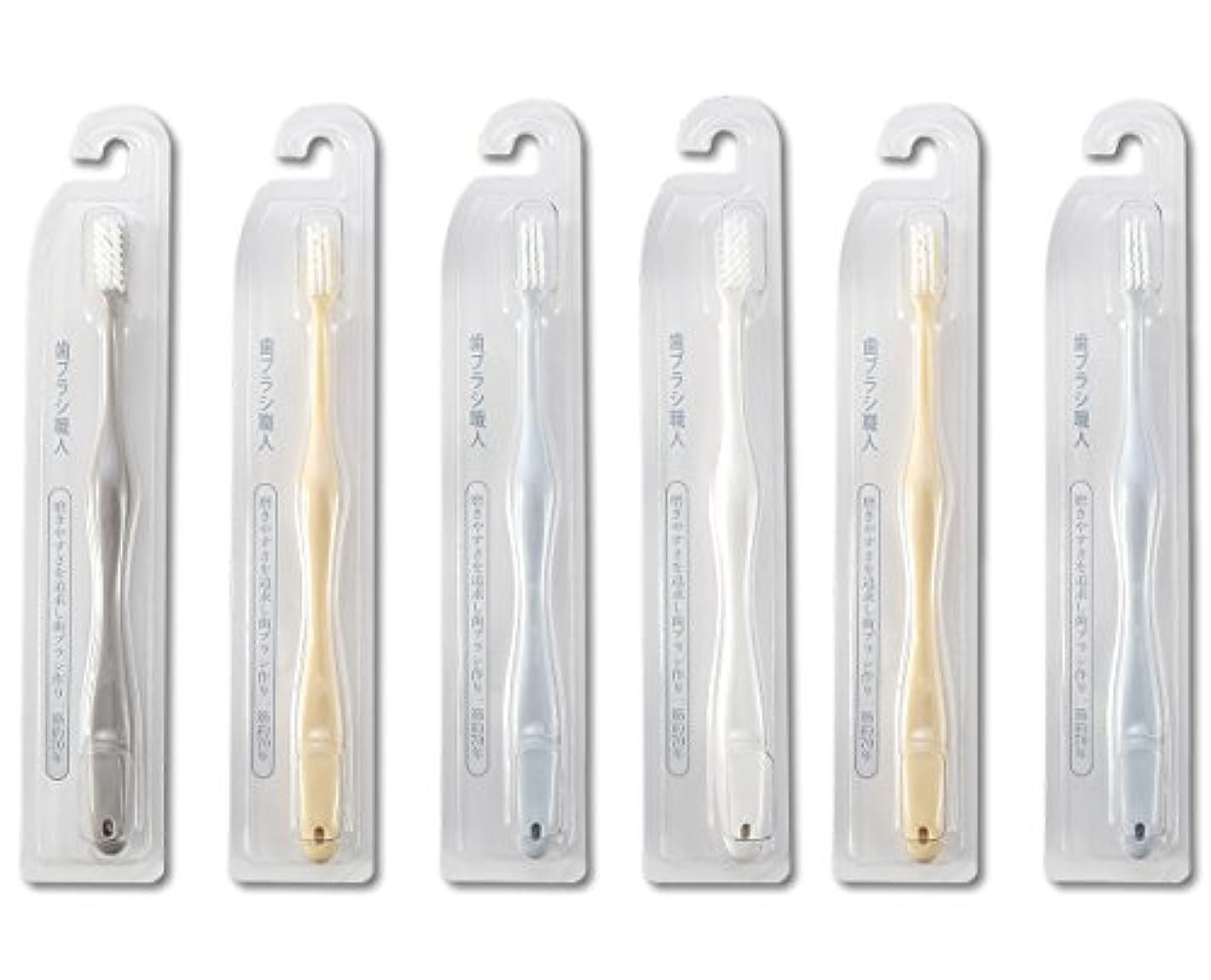インド雲後ろに歯ブラシ職人Artooth ®田辺重吉 磨きやすい歯ブラシ 極 AT-09 (6本組)