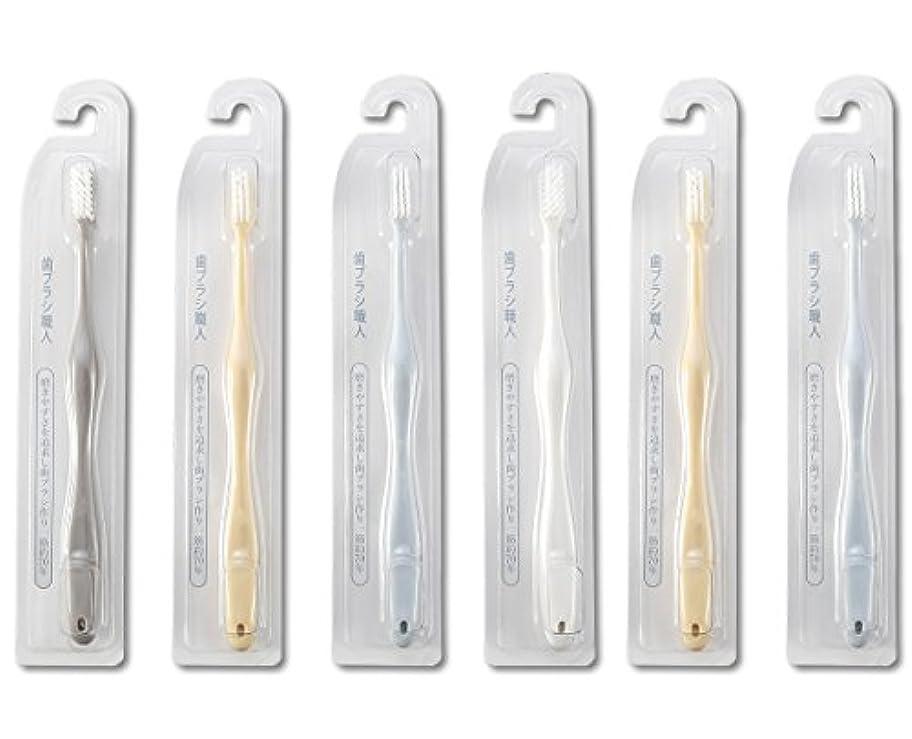 原子フィラデルフィア常習者歯ブラシ職人Artooth ®田辺重吉 磨きやすい歯ブラシ 極 AT-09 (6本組)