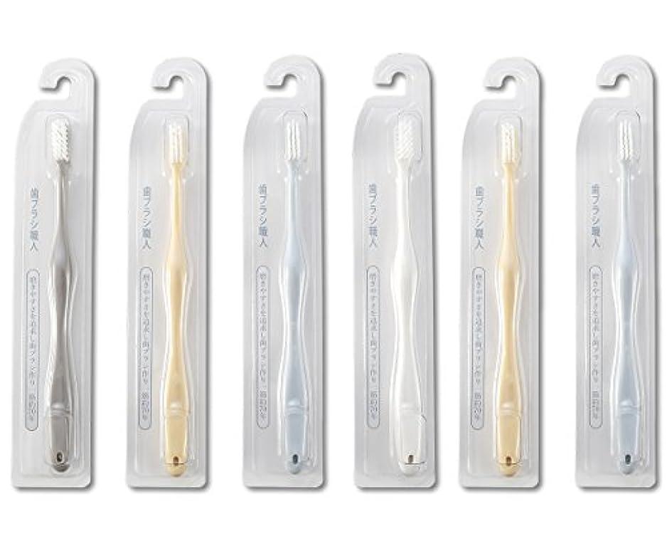 歯ブラシ職人Artooth ®田辺重吉 磨きやすい歯ブラシ 極 AT-09 (6本組)