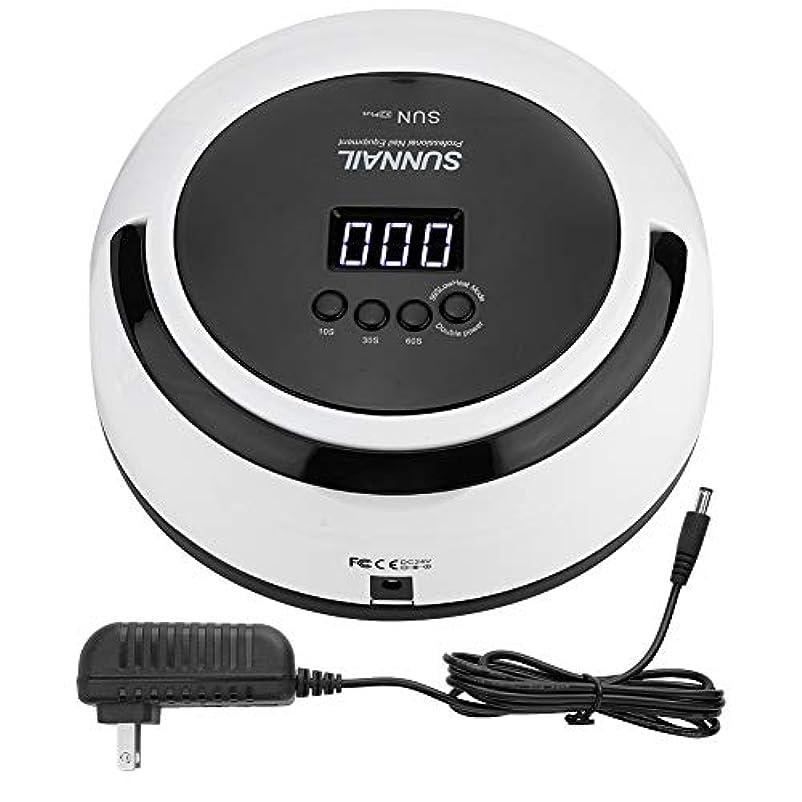 汚れたバスルーム消毒剤LEDネイルランプ UVネイルドライヤー 5W 多機能 24個LED付き/デュアル光源/ 30秒、60秒、99秒/インテリジェント 赤外線センサーあり(1#)