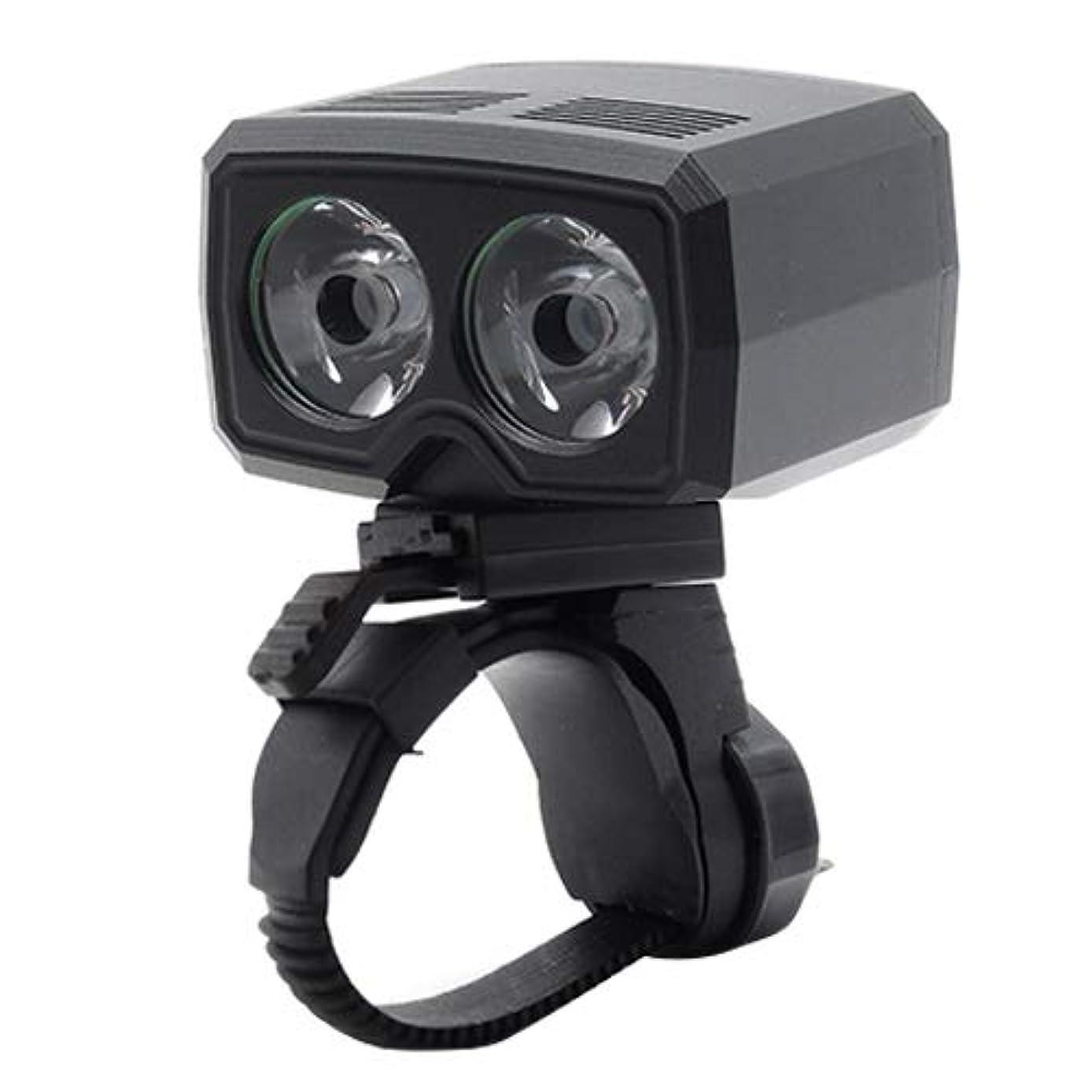 沼地スクリュー転送WTYDアウトドアツール Y15 2×CREE XPG2 500LM USB充電LEDバイクヘッドライトフロントランプ5モード 自転車の部品