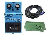 BOSS 技 WAZA CRAFT Chorus CE-2W + 3m ギターケーブル VOX VGS-30 + クロス セット