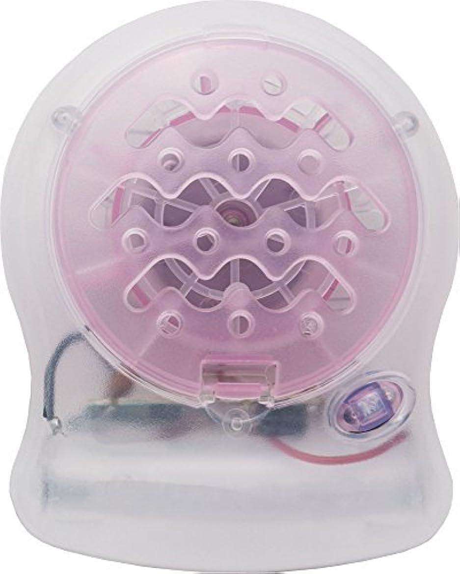 お風呂を持っているマトンオゾンアロマブリーズ Novababyt ピンク