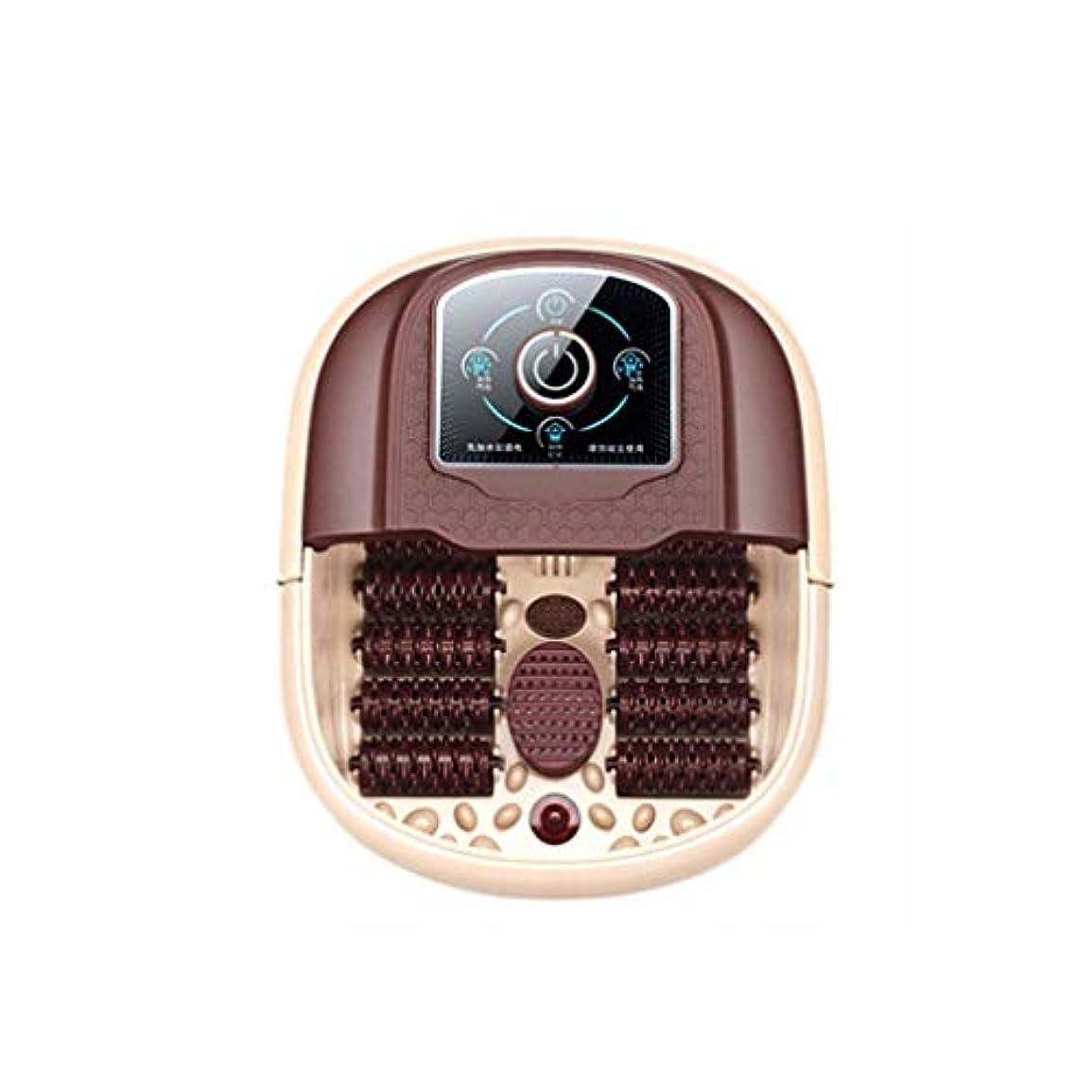 辛い視聴者シチリア友人や親戚のために足浴槽自動暖房フットホームヘルスフットマッサージフットバスプロモーションギフト