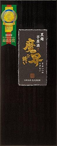 魔界への誘い 黒麹仕込み 原酒 芋 瓶 37度 720ml