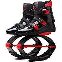 Jumping Shoes, Unisex Fitness High Strength Jumps Shoes Slimming Body Shaping Shoes with Sports Shoes,Red,42/44