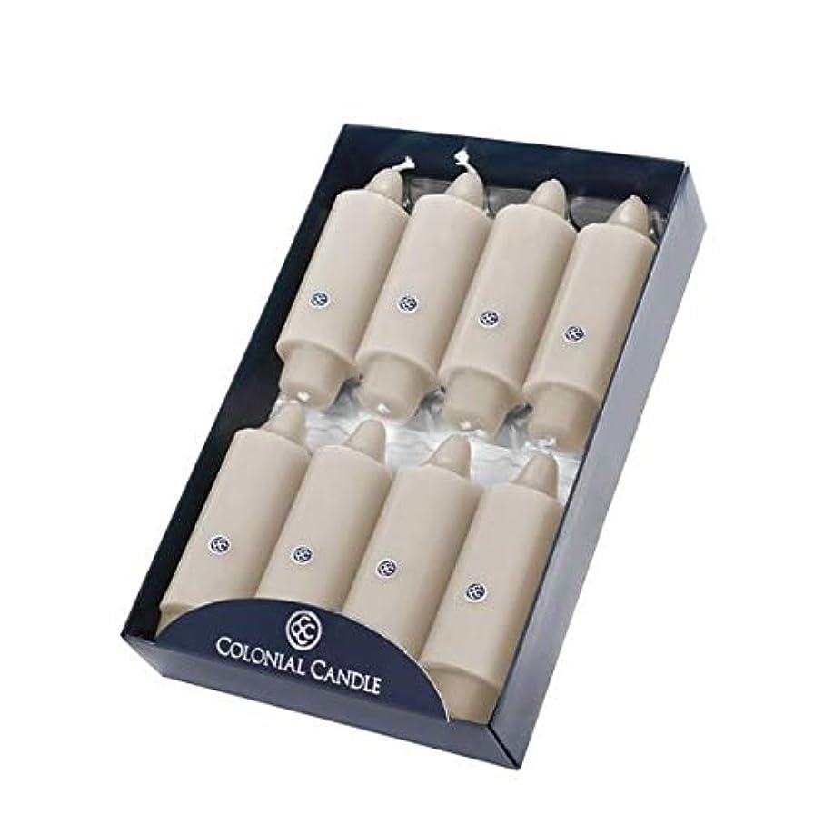 生態学自治笑いColonial Candle 無香料 5インチ Grande クラシックテーパーディナーキャンドル 8本セット L 43762-FCZ