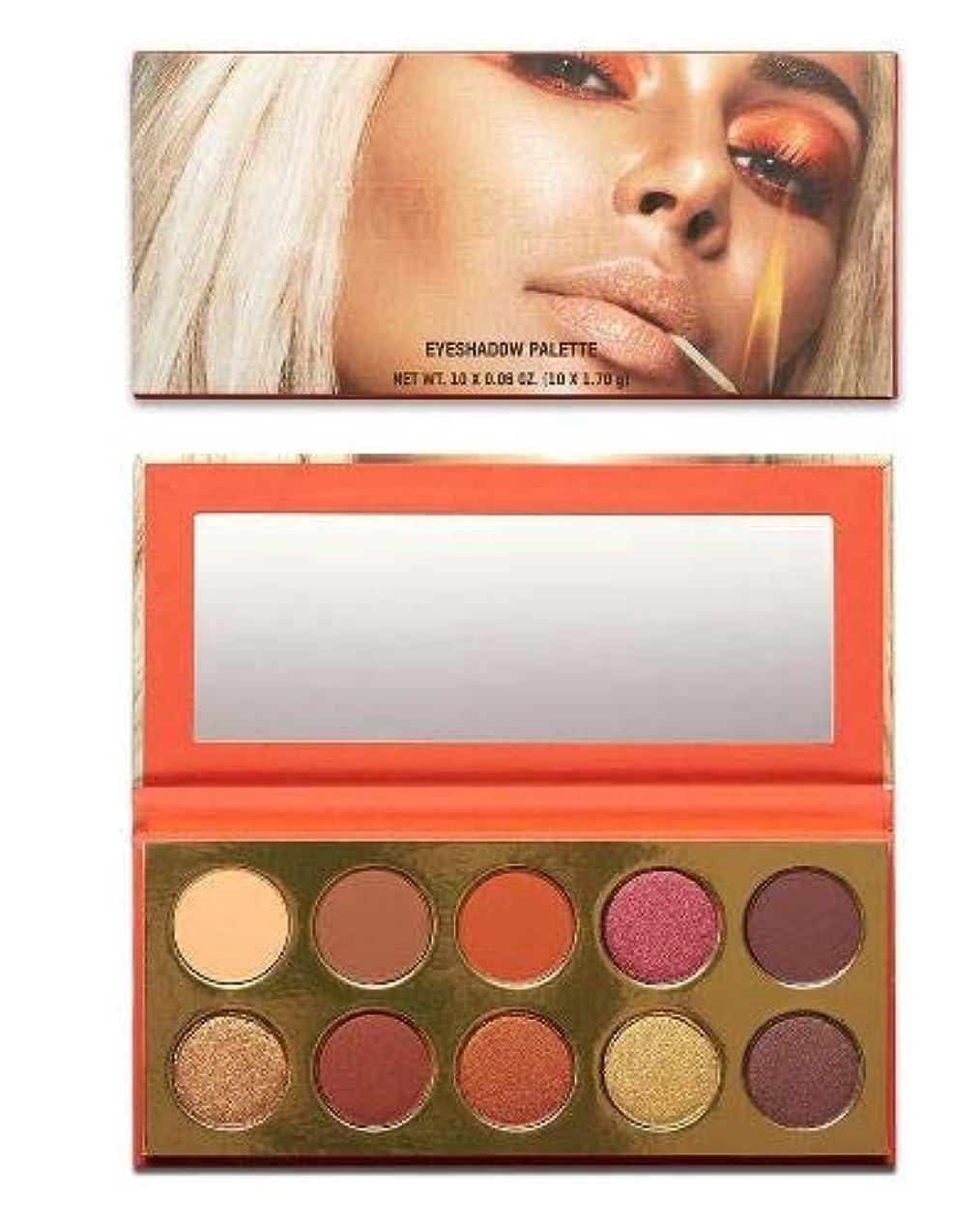 科学的型イノセンスKKW BEAUTY Sooo Fire Eyeshadow Palette キムカーダシアン