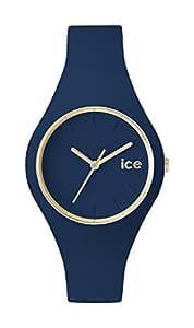 [アイスウォッチ]ICE WATCH 腕時計 ウォッチ ice glam 40mm ネイビー シリコンラバーベルト クオーツ 10気圧防水 メンズ レディース [並行輸入品]