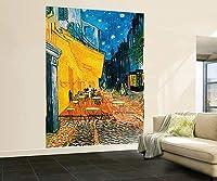 ヴィンセント・ヴァン・ゴッホテラスカフェナイト巨大な壁アートプリントポスター、186 x 260 cm