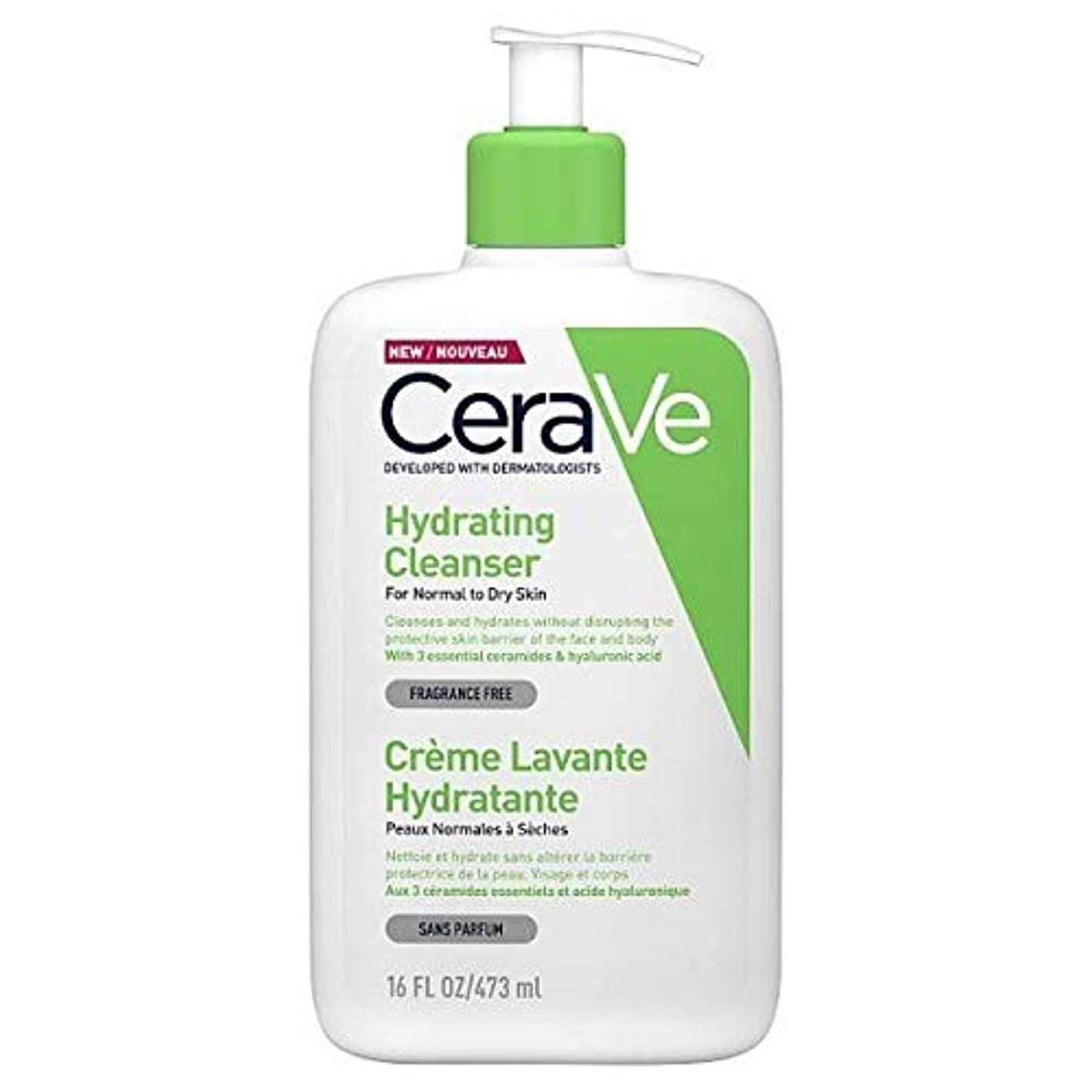 [CeraVe] Cerave水和クレンザー473ミリリットル - CeraVe Hydrating Cleanser 473ml [並行輸入品]