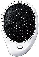 KOIZUMI(コイズミ) Bijouna(ビジョーナ) 【音波振動ブラシ コンパクトで持ち運びやすい 手のひら型】リセットブラシ ホワイト KBE-2820/W