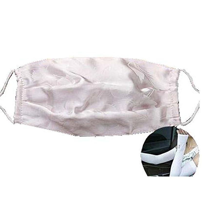 接触本能南西マスクダストマスクアンチ汚染活性化シルクマスクとシルクアームスリーブ