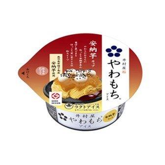 【冷凍】井村屋 やわもちアイス 安納芋 1箱(24入) -