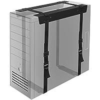 1homefurnit Under Desk PC CPU Holder Straps Computer Tower Mount Bracket Office Home [並行輸入品]