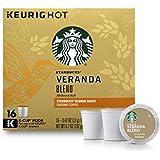 Starbucks Veranda Blend Blonde Light Roast Coffee - Keurig K-Cup Pods - 16ct [並行輸入品]