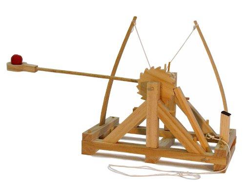 あおぞら レオナルド・ダ・ヴィンチの木製科学模型 カタパルト...