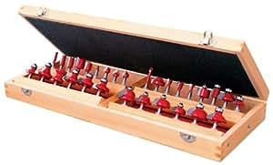 リリーフ(RELIFE) 超硬刃ルータービットセット 30pce 軸径6mm 30602