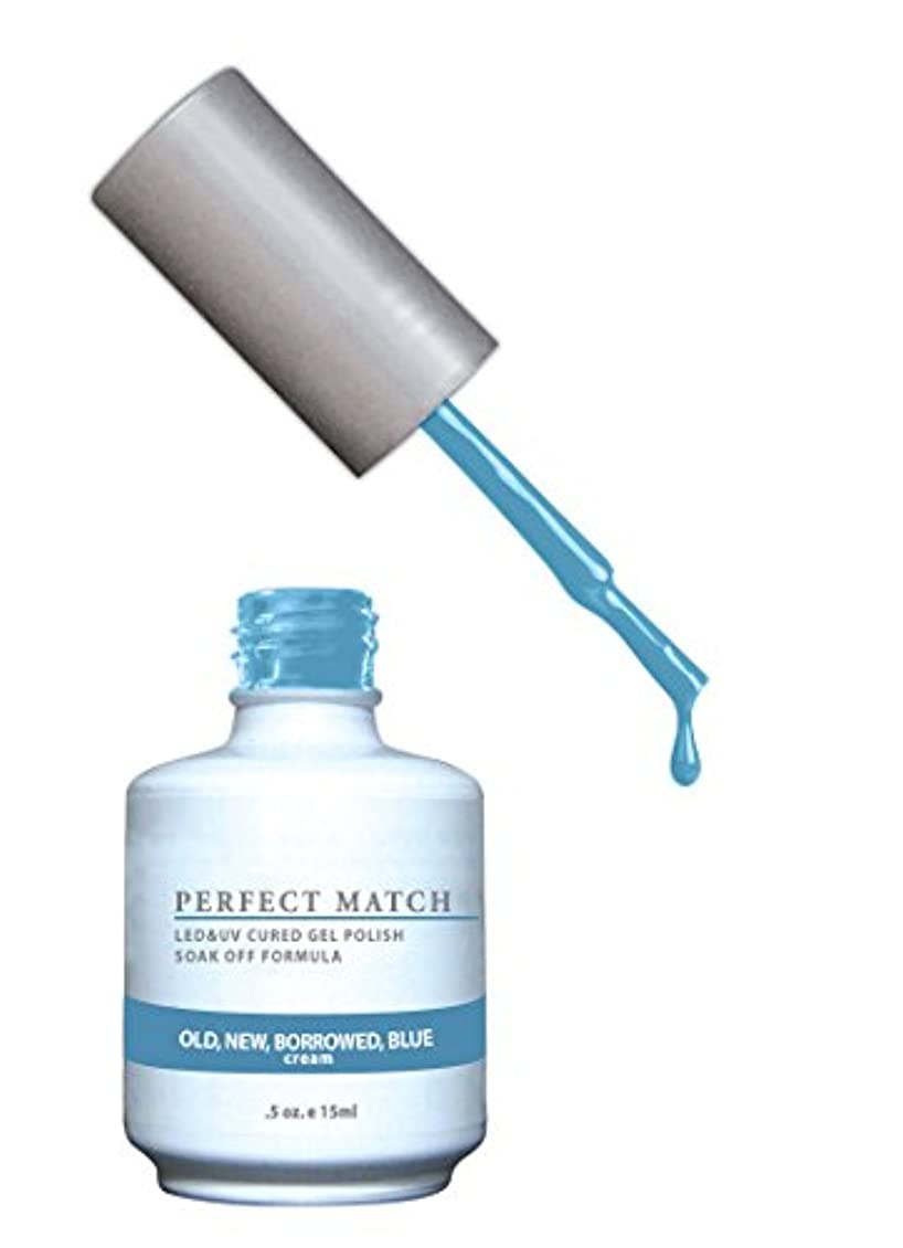 高い注ぎます寛解LECHAT Perfect Match Nail Polish, Old New and Borrowed/Blue, 0.500 Ounce
