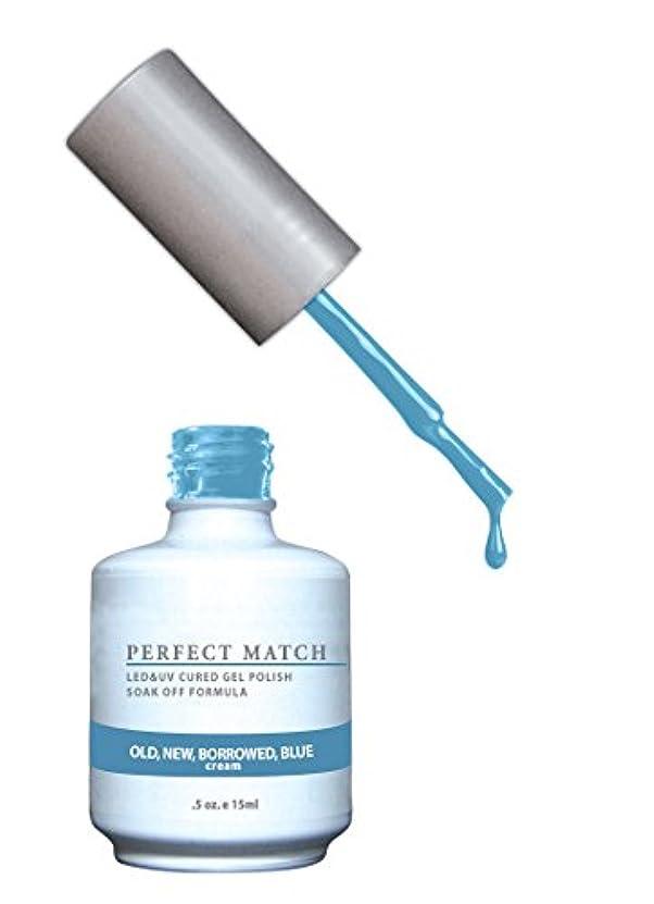 危険にさらされているプレゼンナラーバーLECHAT Perfect Match Nail Polish, Old New and Borrowed/Blue, 0.500 Ounce