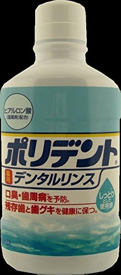 不忠更新する西部アース製薬 ポリデント薬用デンタルリンス 360ml 医薬部外品 マウスウォッシュ ×24点セット (4901080717016)