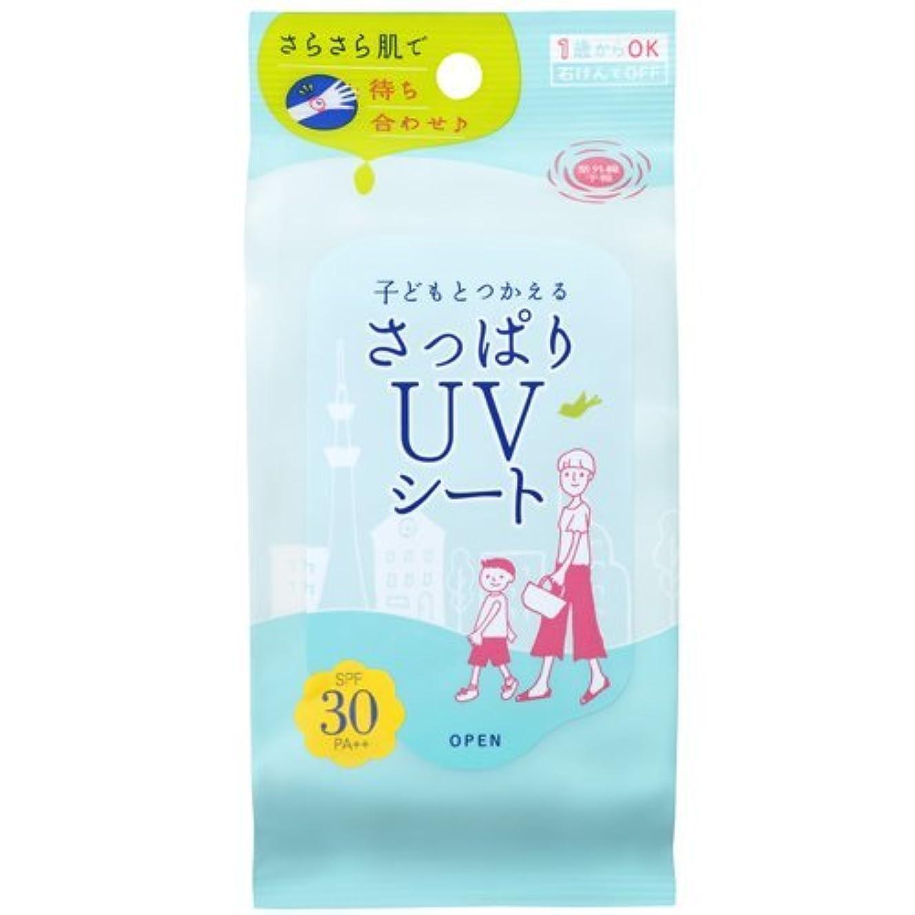 肝暴動倉庫石澤研究所 紫外線予報 さっぱりUVシート 30枚入