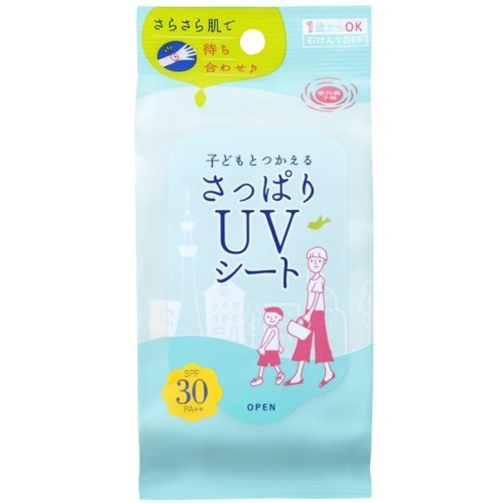 石澤研究所 紫外線予報 さっぱりUVシート 30枚入
