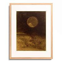 オディロン・ルドン Odilon Redon 「L'Horloge (La Sphere) (Uhr/Kugel), 1888.」 額装アート作品