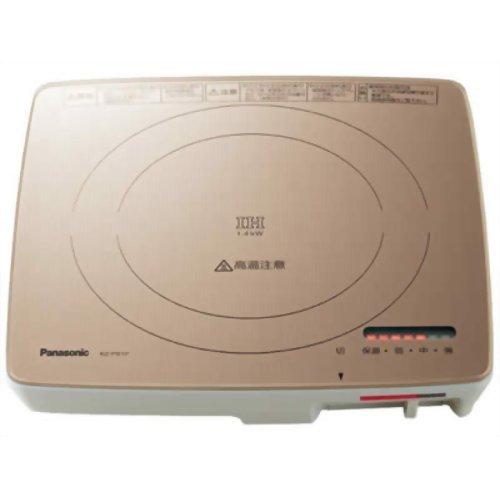パナソニック IH調理器   シャンパンゴールド KZ-PS1P-N
