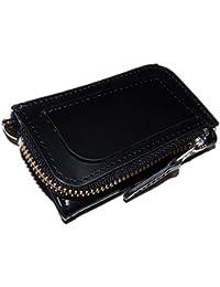 [United HOMME ユナイテッドオム]   かっこいい大人のマネークリップ付 財布 (UHP-585) (黒 コードバン 馬革)