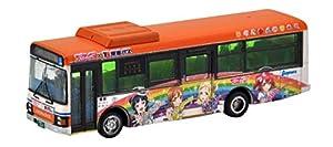ザ・バスコレクション バスコレ 東海バスオレンジシャトル ラブライブ!サンシャイン!! ラッピングバス 2号車 ジオラマ用品 (メーカー初回受注限定生産)