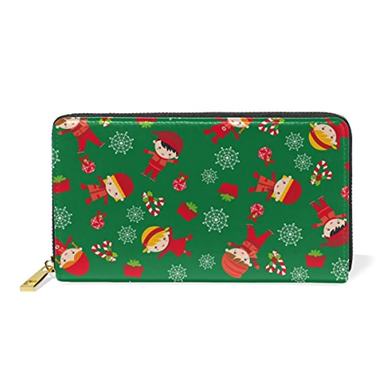 Mikyu(ミクョ)長財布 レディース 本革 かわいい おしゃれ 大容量 緑 クリスマス かわいい 財布 小銭入れ コインケース ウォレット メンズ ファッション お洒落 ファスナー 10代 20代 プレゼント