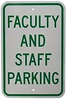 Brady 141813 Parking Sign Text 18 x 12 Green/White [並行輸入品]