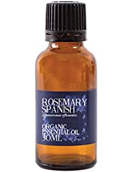 Mystic Moments | Rosemary Spanish Organic Essential Oil - 30ml - 100% Pure
