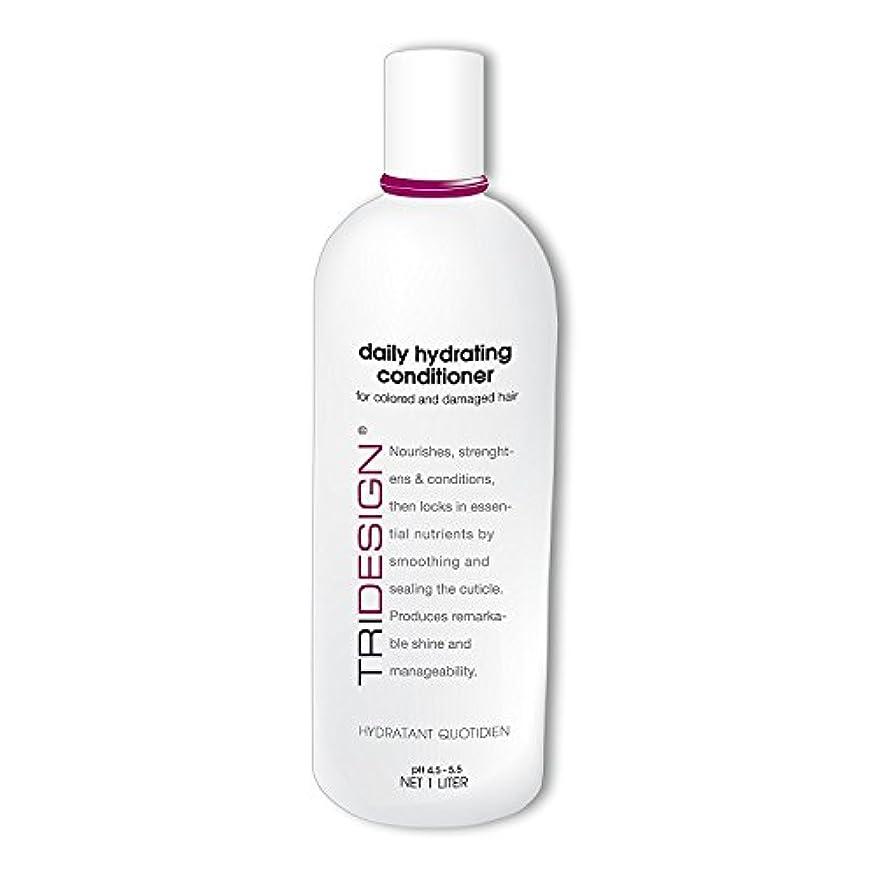 拮抗試験嘆願Tri Hydrating Daily Conditioner, 33.8 Fluid Ounce by TRI