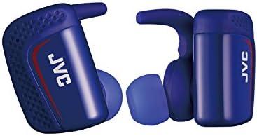 JVC HA-ET900BT 完全ワイヤレスイヤホン Bluetooth/防水(IPX5対応)/最大9時間再生 ブルー HA-ET900BT-A
