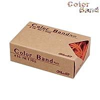 共和 オーバンド カラーバンド プチ 30g オレンジ GGC-030-OR ゴムバンド