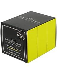 エドウィンジャガー トラディショナルシェービングソープ ライム&ザクロ65g 3パック[海外直送品]Edwin Jagger Traditional Shaving Soap Limes and Pomegranate...