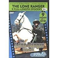 THE LONE RANGER - 9 FULL LENGTH EP MOVIE