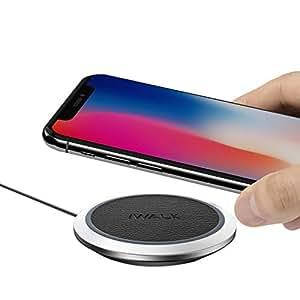 iWALK ワイヤレス充電器 QI 充電器 wireless charger 置くだけで充電 スマホ スマートフォン iphonex iphone8 iPhone 8 Plus ワイヤレス 充電器 チャージャー Galaxy/Nexus / LG/XperiaなどのQi対応機種に充電可能