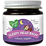 123 Nourish Me Sleepy Head Balm – Natural Sleep Aid for Babies, Kids – Organic Essential Oils for Sleep and Magnesium to Calm and Relax – Made in Australia