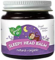 123 Nourish Me Sleepy Head Balm - Australian Made Natural Sleep Aid for Babies, Kids, Organic Essential Oils f