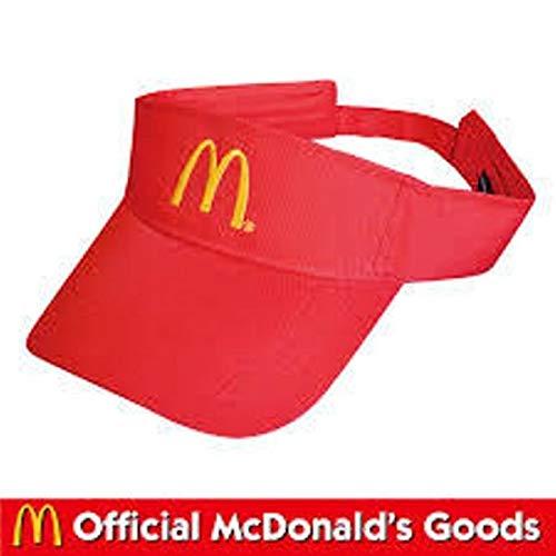 マクドナルド McDonald's VISOR/マクドナルド サンバイザー レッド ハンバーガー アメリカ雑貨 アメ雑 アメリカン雑貨
