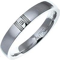 [エルメス]HERMES K18WG アリアンス ケリーリング 指輪 #47(7号) 中古