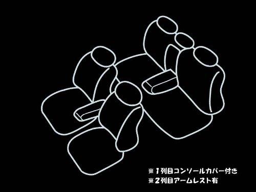 COLIN STANCE スタンス シートカバー スタンダード/ブラック/【トヨタ】プリウス NHW20 H15.09~H21.05 S2400B S2400B