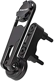 ROKFORM Pro Series Motorcycle Perch Phone Mount, Aircaft Aluminum for Harley Davidison, Black