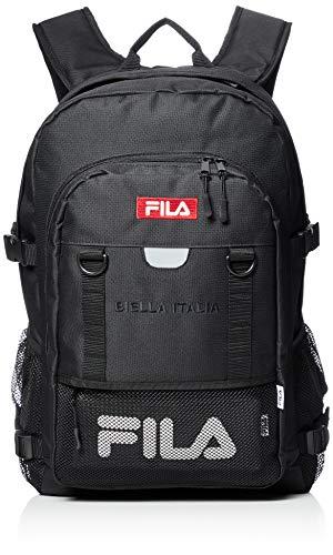 [ウィゴー] 別注FILA ボックスロゴスクールリュック F ブラック