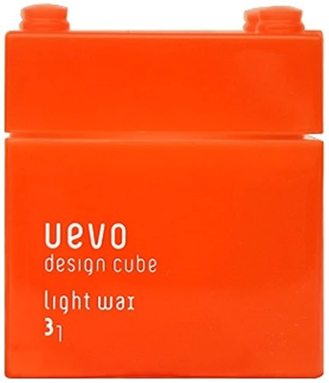 拍手耐えられるまたウェーボ デザインキューブ ライトワックス 80g