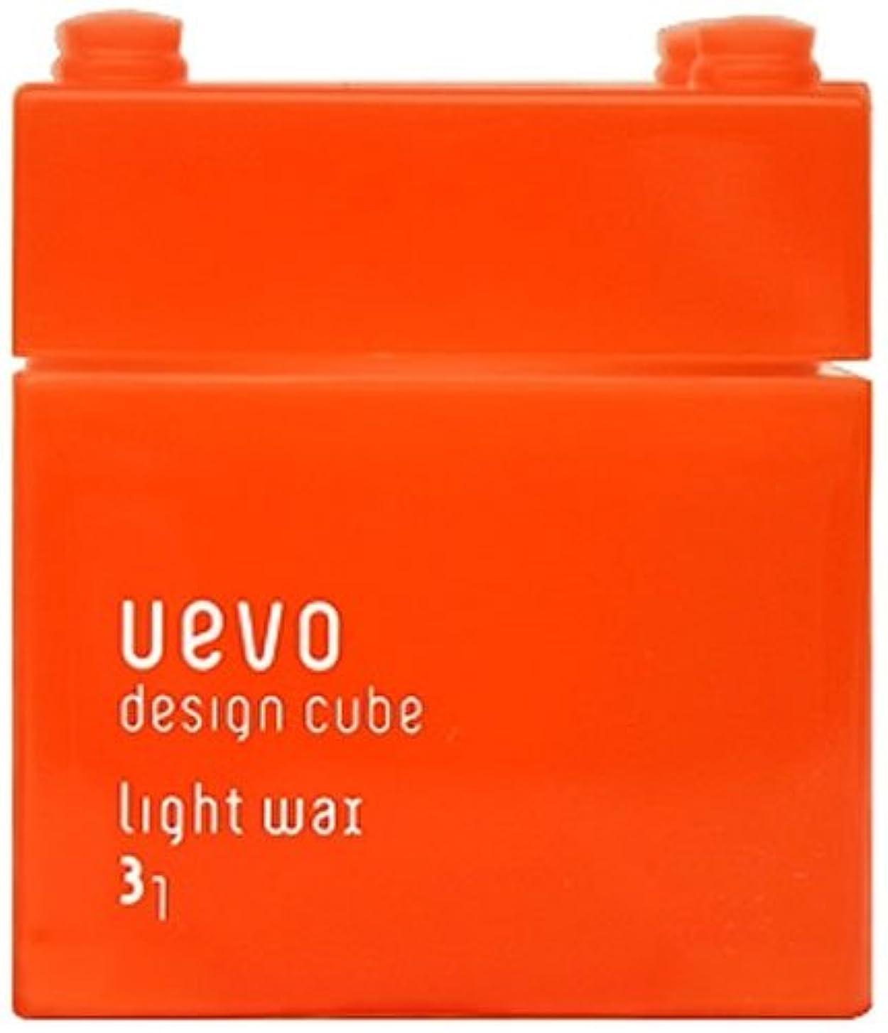ブッシュ学生忘れっぽいウェーボ デザインキューブ ライトワックス 80g